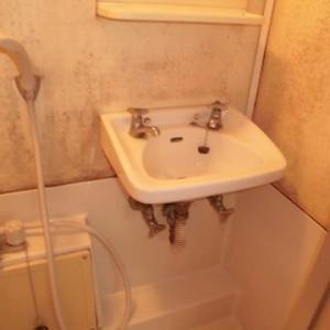 千葉県市川市 セキスイ洗面器 L58 交換 ひび割れ 水漏れ