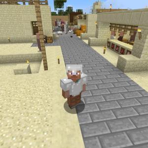 【PS4版マインクラフト日記6】八百屋と肉屋を建設