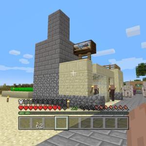 【PS4版マインクラフト日記】鍛冶屋と船着き場を製作