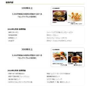 【2月&8月⇒グルメカタログギフト優待♪】自社株買いも!