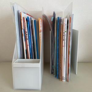 リビングの棚の書類。綺麗に使いやすく収納するには?!