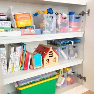 子どものおもちゃ収納!空間活用と見せる収納のため無印良品で購入したもの♪