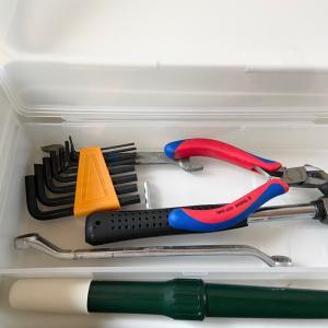 【セリア】工具箱の収納を綺麗に収めるために買って来たもの♪