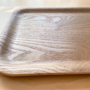 【ニトリ】自分でお皿を運んでもらうのに便利!4歳から使っている木製トレー♪