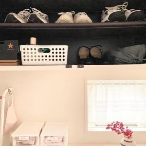 【収納】玄関の靴箱の中の収納を100均→無印良品へ♪