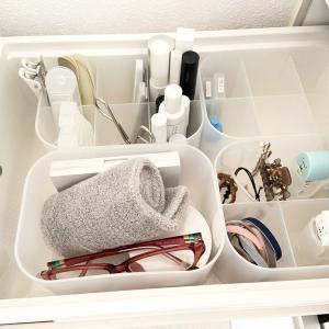 【収納】洗面所の子ども雑貨を100円アイテムを追加して使いやすく♪
