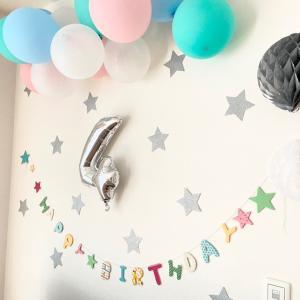 【4歳のお誕生日!】100均アイテムで飾り付け & キャンドゥの超オススメアイテム♪