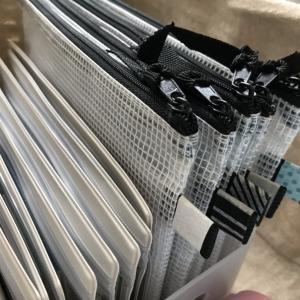 カインズホームの仕切り付き収納ケースでお薬手帳やカード類を収納♪
