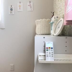 ダイソーの画期的なカラボ用収納用品を子供部屋に設置♪