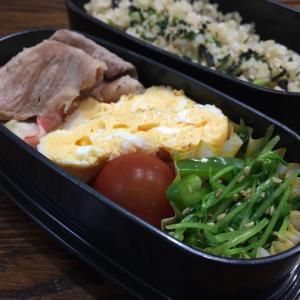 今日のお弁当    キャベツと豚肉の味噌炒め