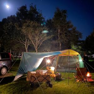 満月キャンプ