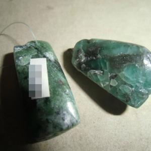 デュモルチェライトやロードナイトの原石入荷(^^♪