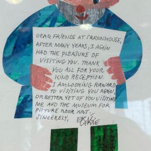 エリック・カールさんからの手紙
