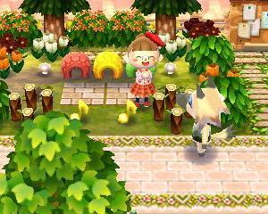 【スナッフィー村】金色の稲を眺めながら歩く村散歩③(駅前公園~キャンプ場)