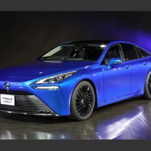 【画像】燃料電池自動車のmirai 新型が登場へ、東京モーターショーで披露。