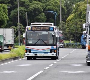 バスのステップでお札を拾い、運転手さんに嫌がられる。