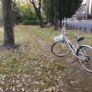 夫の自転車がパンク。タイヤ交換で5800円。悲
