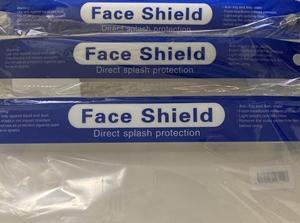 フェイスシールド 3個 とマスク 4箱  買ってしまった・・・。