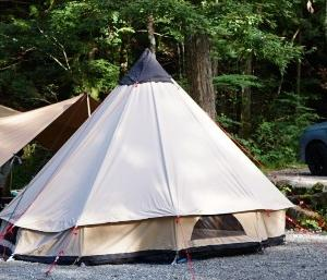 キャンプ最終日は早めの行動で。