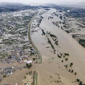 台風19号、ラグビーチームの被災者貢献