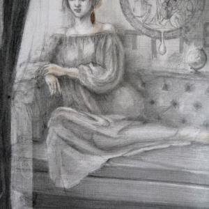 展覧会のお知らせ(ドラードギャラリー)時の女神