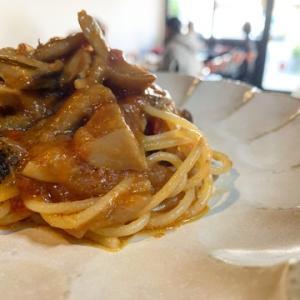 今週のパスタ2点盛りランチのスパゲッティ