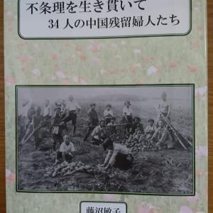 『不条理を生き貫いて 34人の中国残留婦人たち』(津成書院)