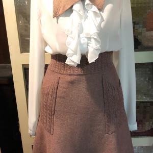 綺麗なラインのスカート〜〜〜      ビスコースでやわらか  おススメ