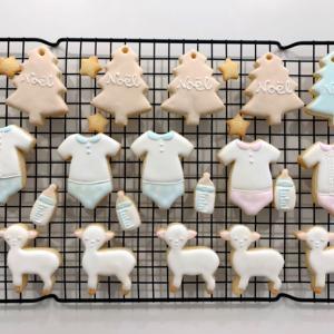シンガポール 出産祝いアイシングクッキー