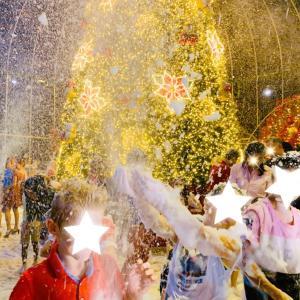 シンガポールの泡泡♡クリスマス