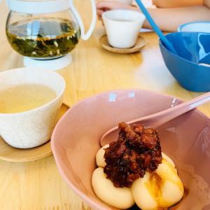 手作りしらたま♡シンガポール生活必須の白玉粉。