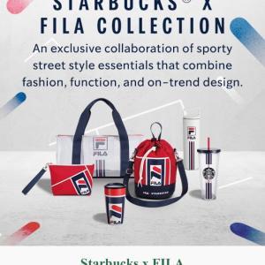 シンガポールスターバックス × FILA コレクション