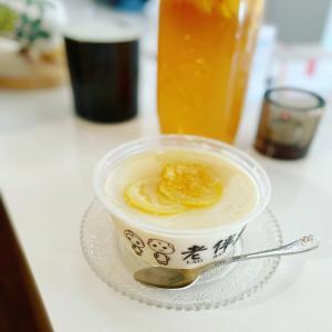 ひんやりレモン豆花