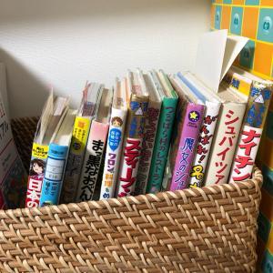 今年のクリスマスプレゼント(小2・8歳)と図書本