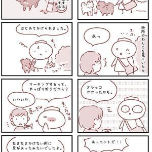 【犬漫画】飼い主にマーキング?