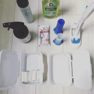 ひっそりお片付け祭り 小物へ ( 生活用具、トイレと洗面所とお風呂のお掃除道具たち 編 )。