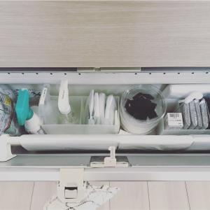 ひっそりお片付け祭り 小物へ ( 生活用具、キッチンのお掃除道具収納方法編 )。