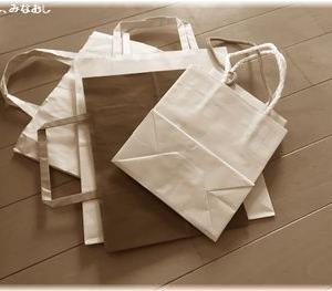 ついたまっちゃう紙袋、どこで使う?