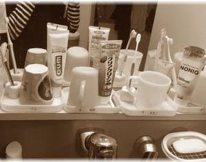 洗面台のコップをやめてみたメリットとデメリット