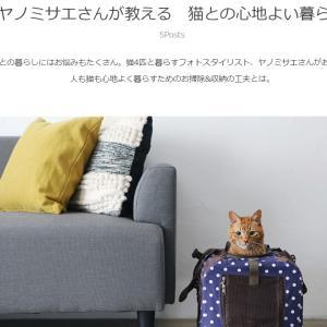 【連載】おウチの収納.comさんで猫との引っ越しやキャリーバッグについて紹介