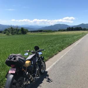 空っ風街道 イン キットバイク