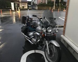 雨の中イントルーダー