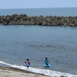 富山県朝日町 海浜公園海水浴場2019