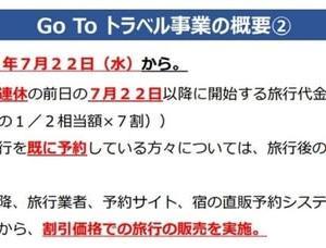 Go To キャンペーン だって!