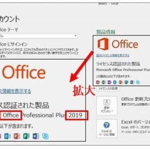 Office2019  違法販売商品?