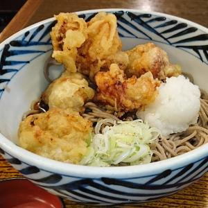 京橋の旧ダイエー閉店、最後の晩餐は唐揚げ天そば