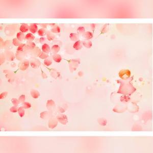 パステルアート 願いを込めて『さくらと妖精』