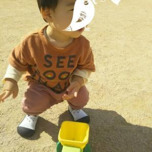【1歳5ヶ月と23日目】臆病過ぎるひー