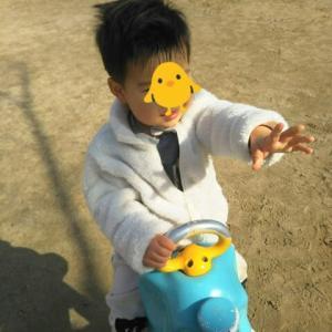 【1歳9ヶ月と3日目】天気良かった!