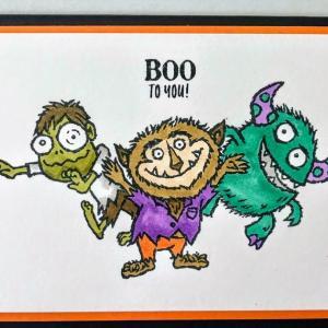 Halloween プロジェクト#2;私の一押しスタンプは 使うほどじわじわくる これ!